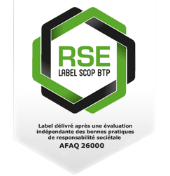 logo RSE label scop btp - indeoconsulting